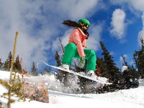 Як вибрати сноуборд за зростом і вагою